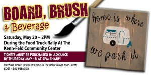 Board Brush and Beverage Event, Mercer County Fair