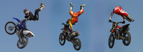 FMX Stunt Bikes