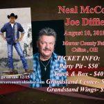 Neil McCoy and Joe Diffie 2018 Concert